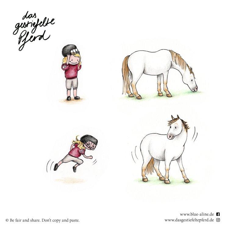 Das gestiefelte Pferd_Blue & Aline_Football
