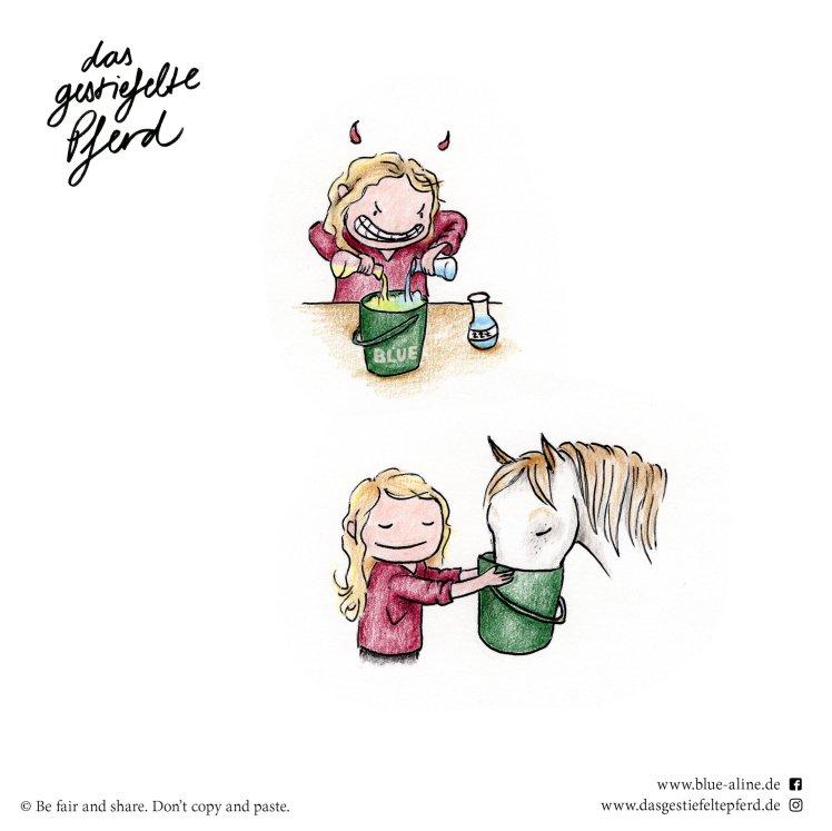 Das gestiefelte Pferd_Blue & Aline_Schlafmittel